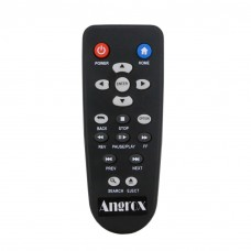 Angrox Universal Remote Control Replacement for Western Digital Remote WD TV HD Media Player Live Plus Hub Steaming 1st 2nd 3rd 4th Gen